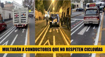 Ciclovías en Arequipa: Conoce los beneficios y sanciones por no respetarlas