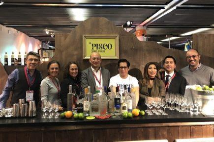 Pisco destaca en la mayor exhibición de vinos y espirituosas del mundo