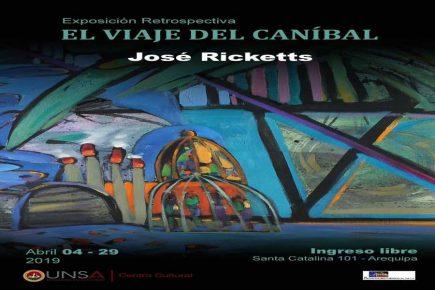 El Viaje del Caníbal: Exposición de pintura del «choclo» Ricketts