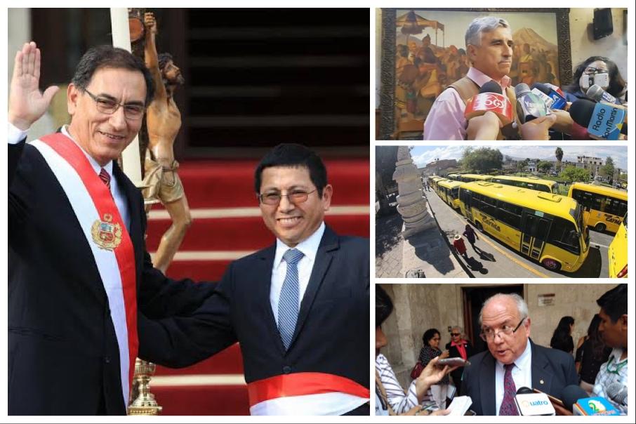 Arequipa: Renuncia de ministro de Transportes no afectará ni al SIT ni al tranvía