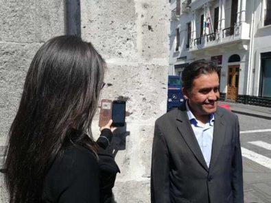 Calle La Merced: instalan el sexto código QR en el centro histórico