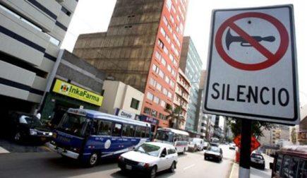 Contaminación sonora en Arequipa sobrepasa el 85% de los límites permitidos