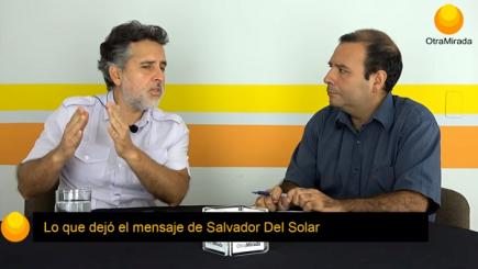 Lo que dejó el mensaje de Salvador Del Solar
