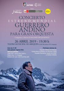 «Guerrero Andino» concierto de Juan José Chuquisengo