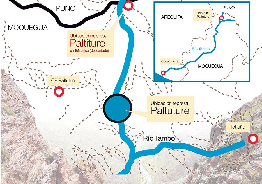 Paltuture: La represa que espera el Valle de Tambo y enfrenta a Arequipa, Puno y Moquegua por el agua