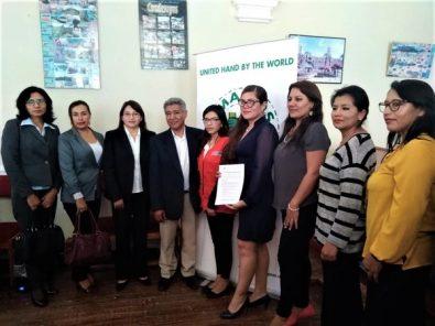 GRA y MPA firman compromiso para prevenir violencia contra la mujer