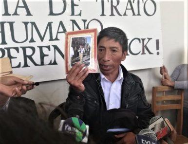 Exigen que soldado presuntamente torturado en cuartel retorne a Arequipa