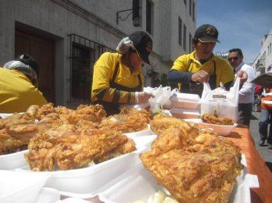 Hospital Goyeneche: compraron equipos nuevos con pollada