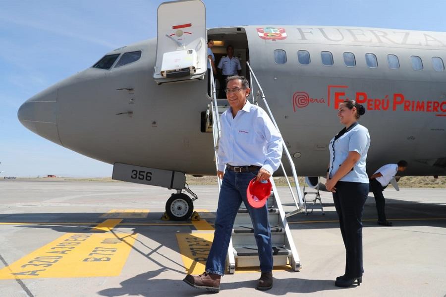 Martín Vizcarra en Arequipa ofrece continuar Majes Siguas y otros proyectos