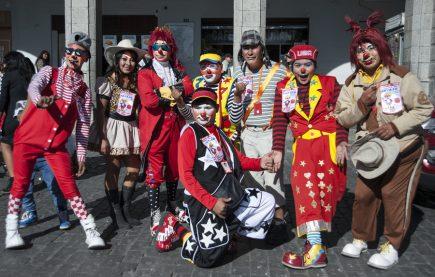 Así se vivió el día del payaso, peruano en Arequipa (FOTOS)