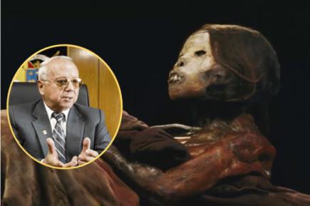 Rector UCSM dice que no se opondrá al traslado de la momia Juanita a Caylloma