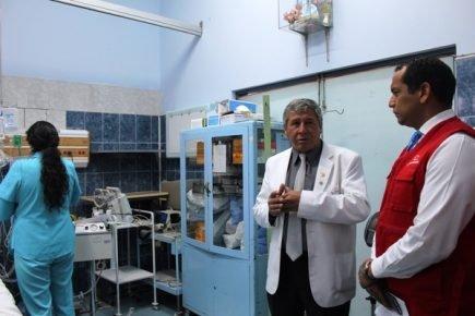 Contraloría constata  deficiencias en el Honorio Delgado y Goyeneche