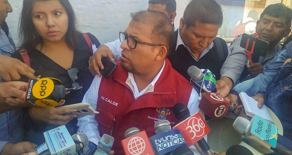 Arequipa Omar Candia contratos sit