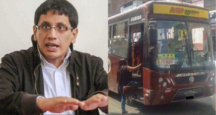 Exasesor del SIT será denunciado por irregularidades en adjudicación de ruta
