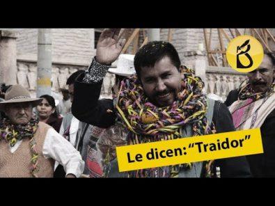 Le dicen: «Traidor» a Elmer Cáceres Llica por Majes Siguas II