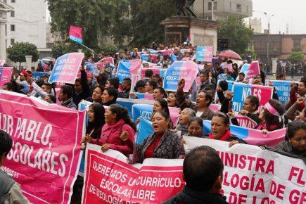 Polémica por marcha de colectivo «Con mis hijos no te metas»
