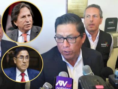 Ministro de Justicia habla sobre los avances en la extradición de Hinostroza y Toledo