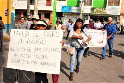 Paro agrario: 10 regiones paralizan pidiendo mayor apoyo al sector