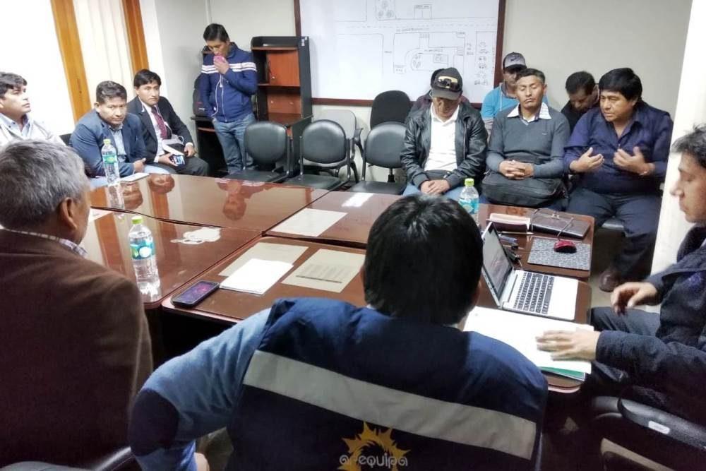 reunion gerencia regional trabajo con construcción civil arequipa