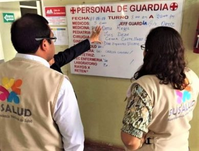 SuSalud: Clausuran 20 establecimientos de salud que atendían sin licencia