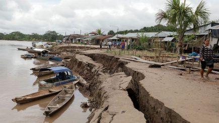 ACT: Terremoto de 8 grados en Loreto cobró dos vidas y destruyó más de 200 viviendas