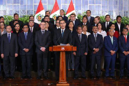 El mensaje del Presidente Martín Vizcarra que anuncia cuestión de confianza al Congreso de la República