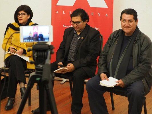"""""""El Ekeko y los deseos imposibles"""" del escrito arequipeño Sarko Medina, quien se ha inspirado en historias míticas acomodados a la cosmovision andina."""