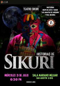 Historias de Sikuri: Obra de teatro