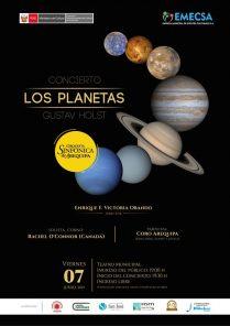 Los planetas de Gustav Holst: Concierto