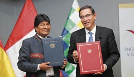 Logros del V Gabinete Binacional Perú y Bolivia