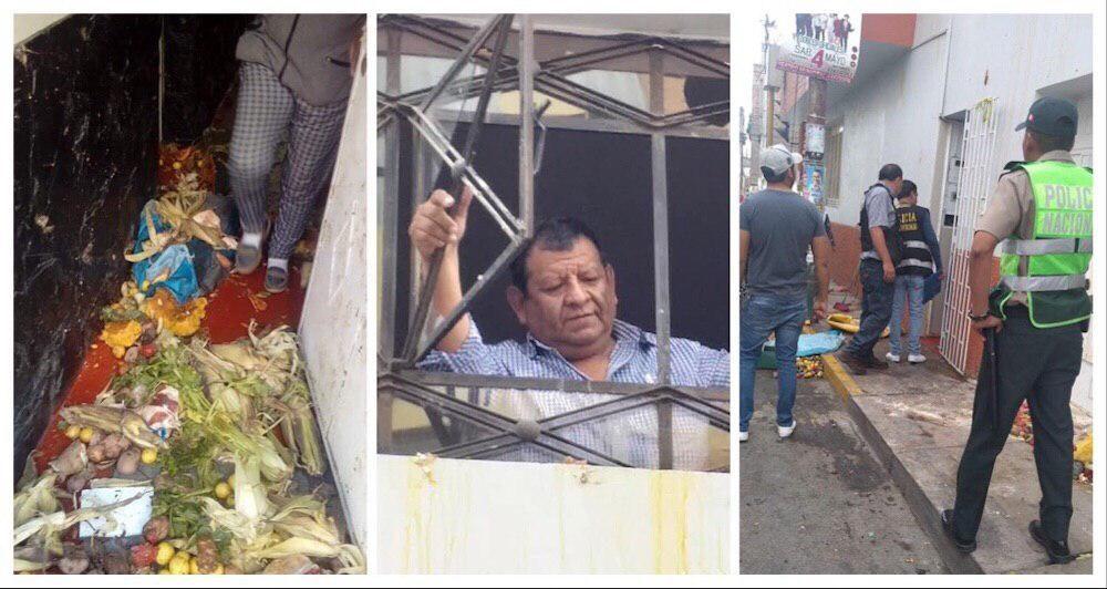 arequipa cerro colorado ataque ambulantes casa alcalde benigno cornejo