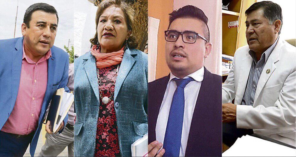 Arequipa cambio gerentes gobierno regional walter gutierrez elmer caceres llica