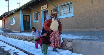 Arequipa: Alerta de descenso de temperaturas hasta los 16° bajo cero