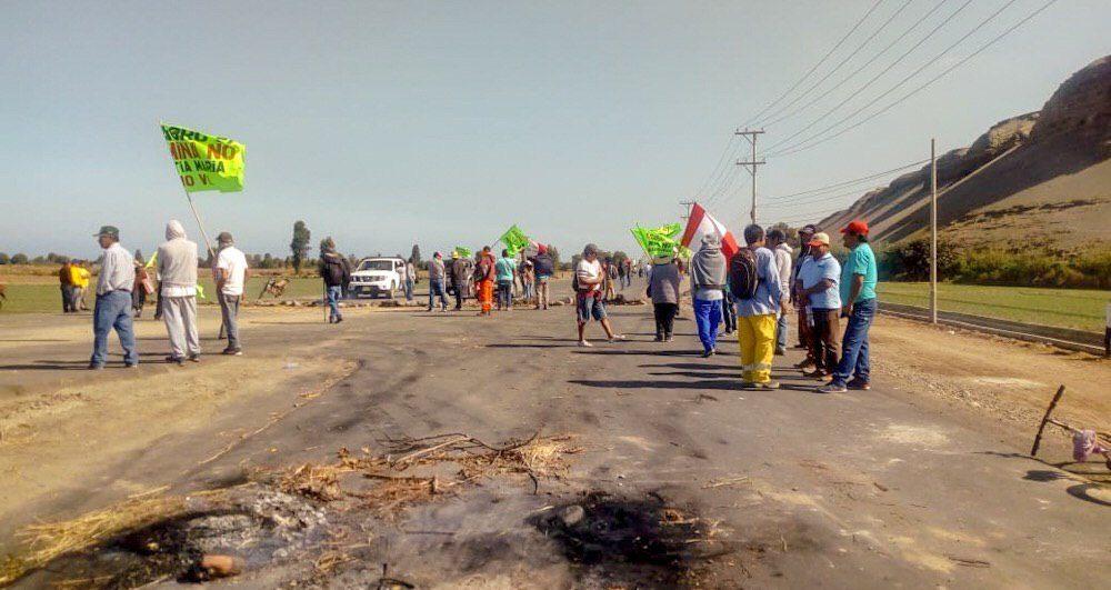 Arequipa islay valle de tambo cocachacra tia maria protesta