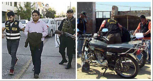Arequipa Municipalidad Provincial mafia los moteros licencia motocicletas corrupción