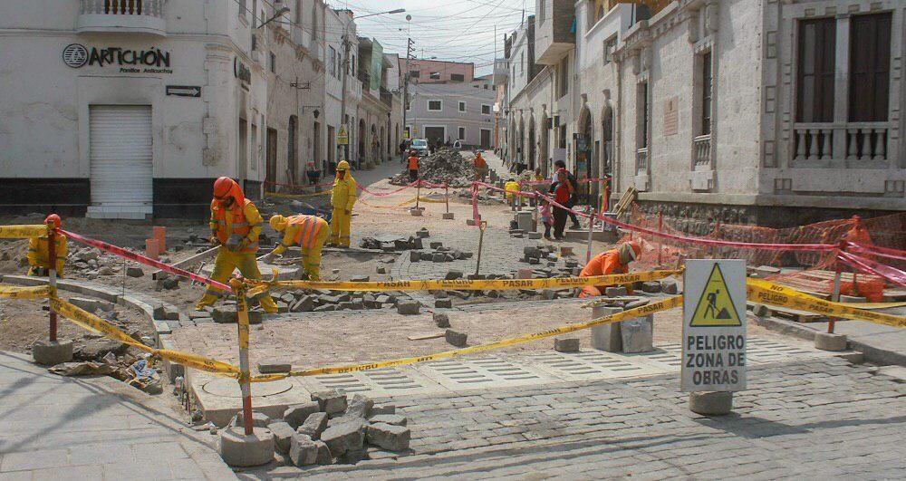 arequipa municipalidad obras directas alfredo zegarra no se liquidan