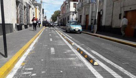 """Ciclovías: Retirarán """"botallantas"""" por cierre de calle San Juan de Dios"""