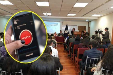 Implementarán «botón del pánico» para salvar víctimas de violencia de género en Arequipa