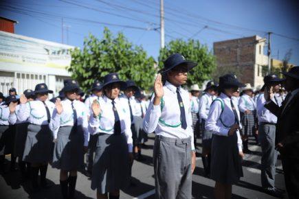 Más de 600 escolares juramentaron como brigadistas ambientales