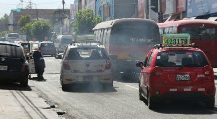 Contaminación del aire en Arequipa se compara con grandes ciudades de América Latina