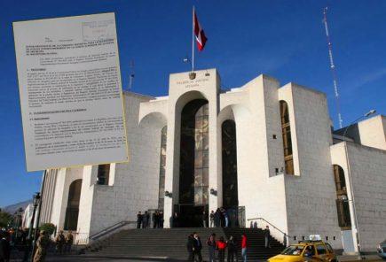 Piden nulidad del examen para jueces supernumerarios en Arequipa