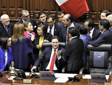 ACT. Congreso de la República aprobó cuestión de confianza planteada por el Ejecutivo
