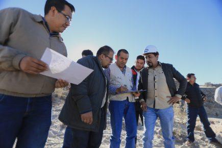 Gobernador regional y alcalde provincial confirman obras de parques zonales