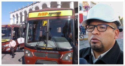 Omar Candia no dará marcha atrás en el SIT, pese a protestas en Paucarpata