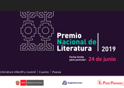 ¿Sabes cómo participar del Premio Nacional de Literatura 2019?