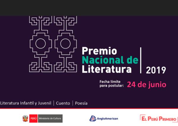 Premio Nacional de Literatura 2019