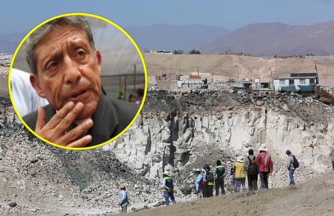 contaminación ambiental en Añashuayco