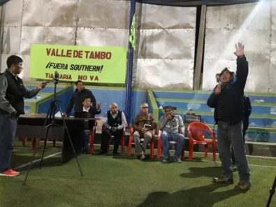 Tía María: Dirigentes del valle de Tambo exigen la presencia de Martín Vizcarra