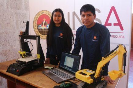 Medio ambiente: Alumnos de la UNSA fabrican impresora 3D biodegradable