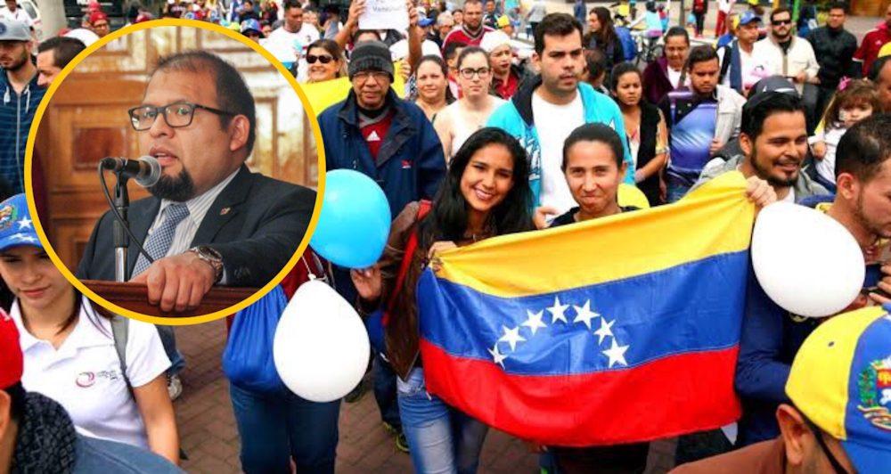 Arequipa municipalidad provincial Omar Candia albergue venezolanos falso onu